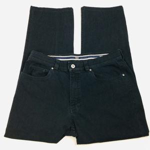 Hiltl Ladies Black Denim Jeans Pants Size 33/34